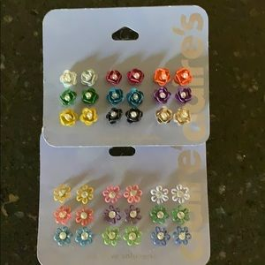 Claire's earrings 2-pack